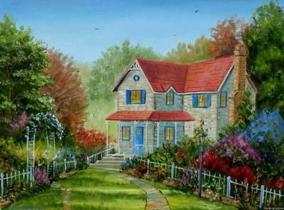 Картина «Дом»