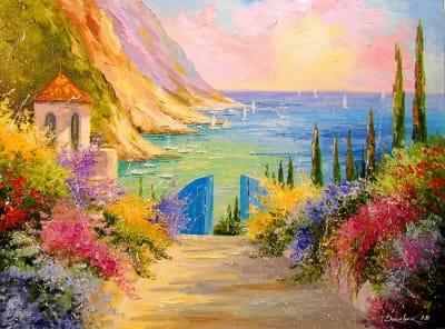 Картина «Дорога к морю» 2