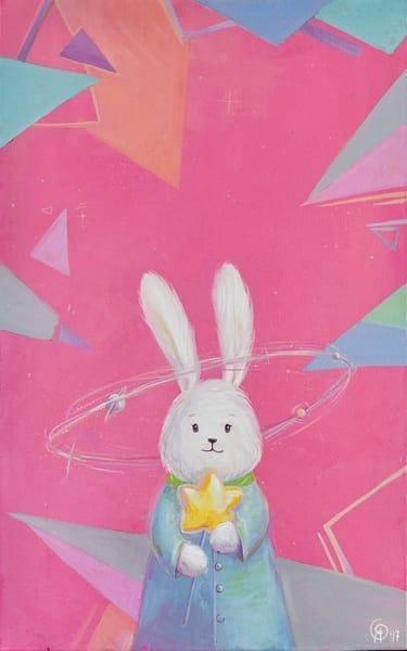 Картина для детской комнаты «Ее вселенная» купить картину маслом Киев