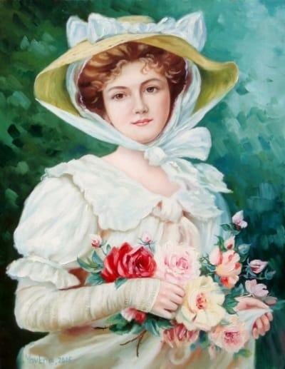 Картина «Элегантная леди»