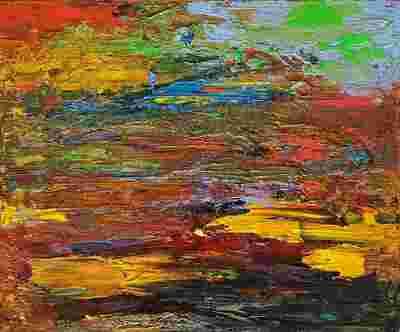 Картина «Эмоции. Яркое вдохновение» многослойная