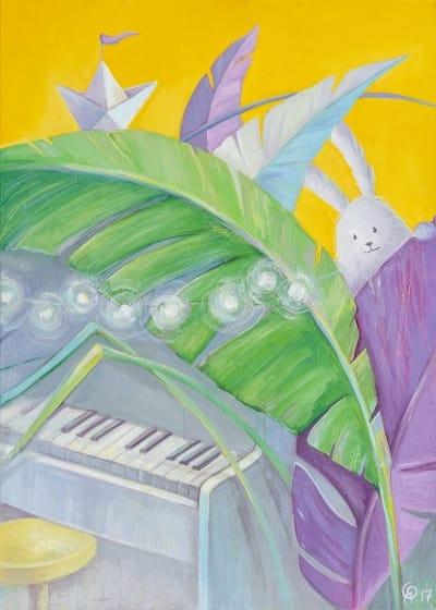 Картина для детской комнаты «Фортепиано» купить картину маслом Киев