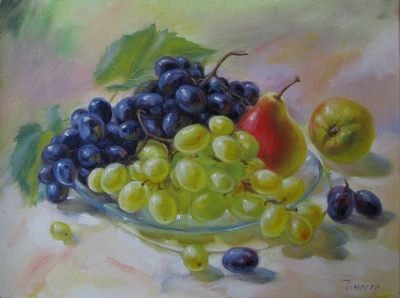 Картина «Груши и виноград»