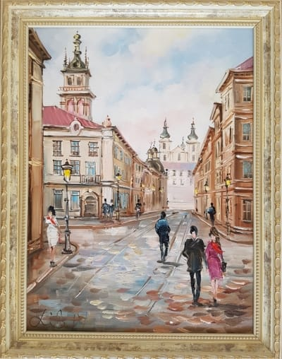Картина «Гуляя улицами Львова» 2
