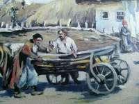 Картина «Хатинка»