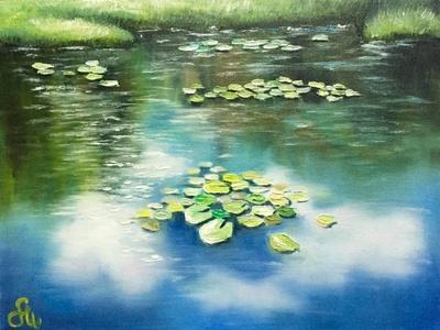 Картина «Облачное зеркало»