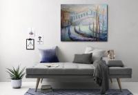 Картина «Раннее утро - мост Риальто»