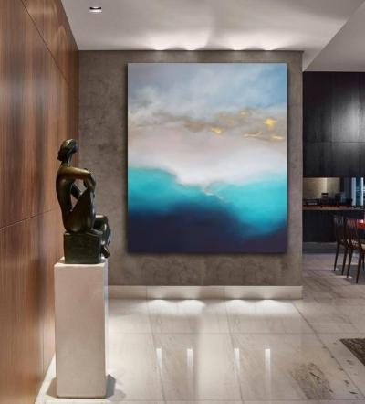 Картина для современных интерьеров «Из глубины» купить картину море Киев