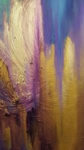 Картина абстракция купить Киев «Из глубины» - картины для современных интерьеров
