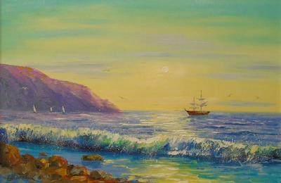 Картина «К родным берегам»