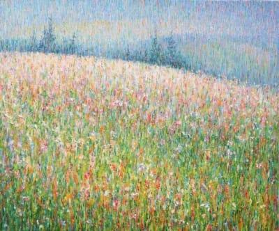 Картина «Карпаты (дождь)»