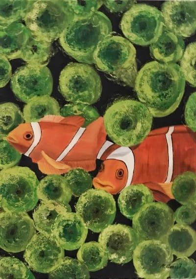 Картина «Коралловый риф»