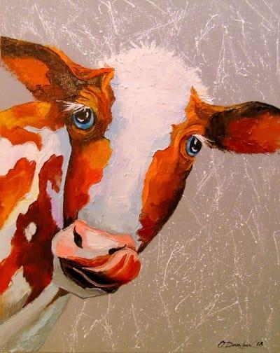 Картина «Корова»