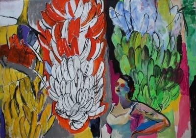 Картина для современных интерьеров «Куба» купить живопись Киев