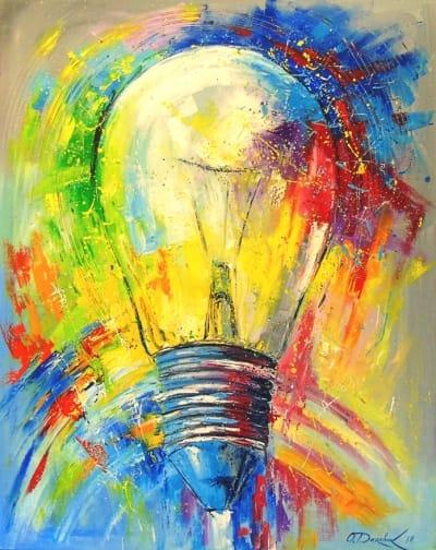 Картина «Лампочка»