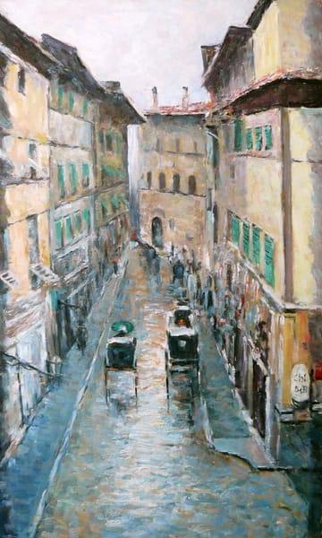 Картина «В старом городе»