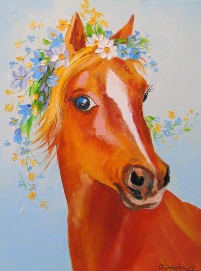 Картина «Лошадка» 2
