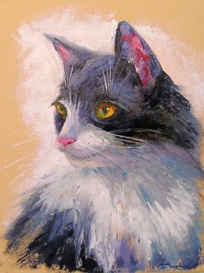 Картина «Любимый кот»