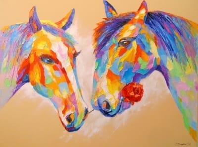 Картина «Любовь лошадей»