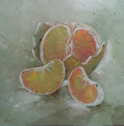 Картина «Мандаринка»