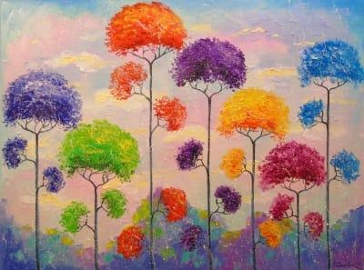 Картина «Мелодия деревьев»
