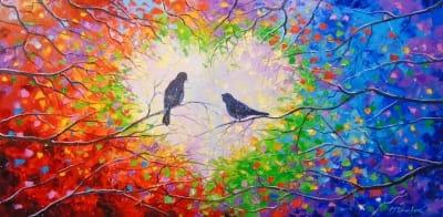Картина «Мелодия любви»