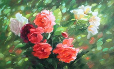 Картина «Мотив роз» ПРОДАНО