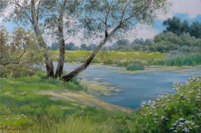 Картина «На берегу речки Сула»