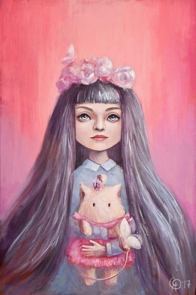 Картина для детской комнаты «Наши с тобой бабочки» купить картину маслом Киев