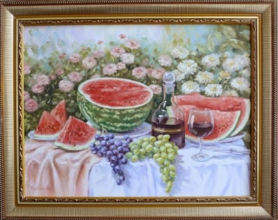 Картина «Натюрморт с арбузом» 2