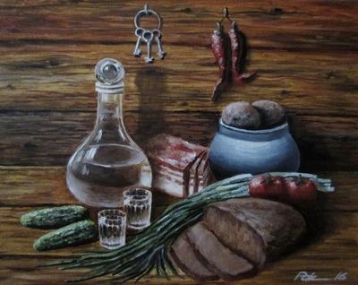 Картина «Натюрморт с ключами»