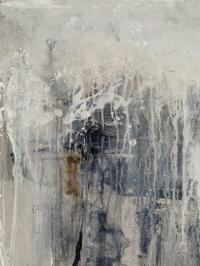 Картина абстракция «Нейтральное настроение» (шестая из сета) купить живопись для современных интерьеров Украина Киев