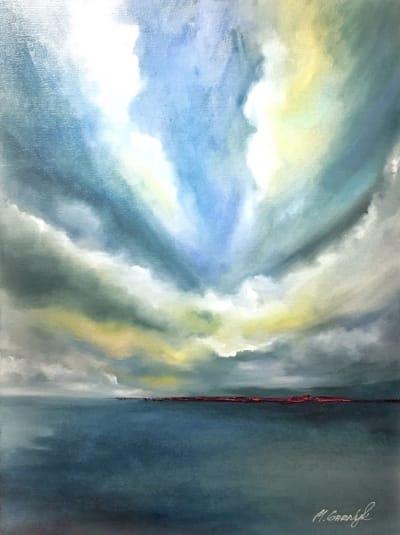 Картина «Небо над морем»