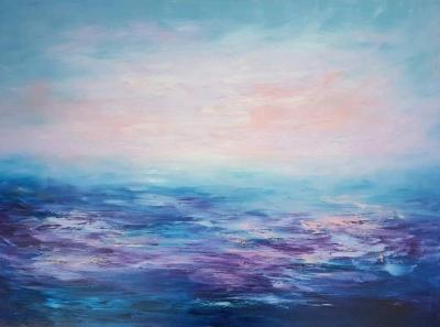 Картина «Нежный закат» 2