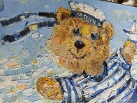 Картина «Мишка - одессит»
