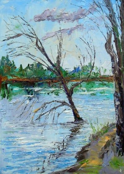 Картина «Одинокое дерево»