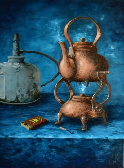 Картина «Старинный чайник»