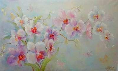 Картина «Орхидея - прекрасна и изящно горделива»