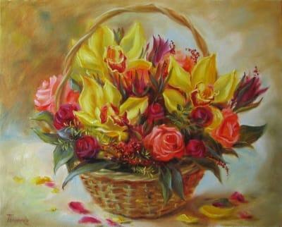 Картина «Орхидеи» 2