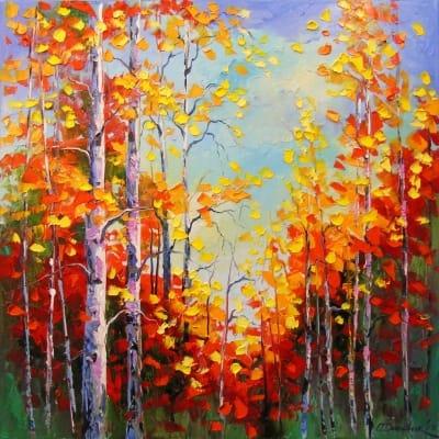 Картина «Осеннее время»
