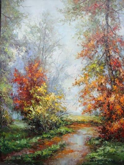 Картина «Осеннее утро»