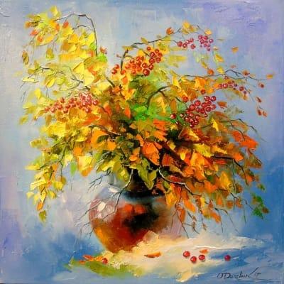 Картина «Осенний натюрморт» 3