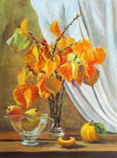 Картина «Осенний натюрморт» 2