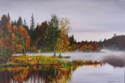 Картина «Осенний пейзаж»