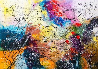 Картина «Осенний сад»