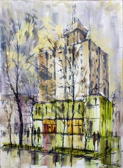 Картина «Отель«Семь дней»