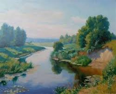 Картина «Речка Остер»