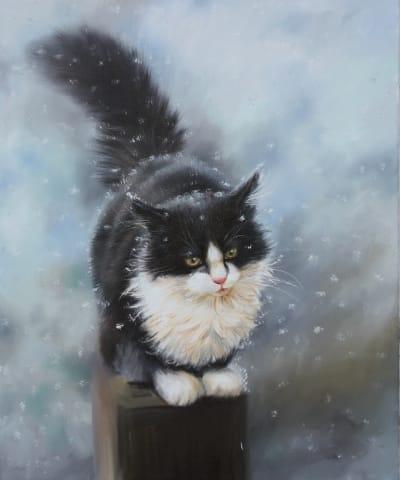 Картина «Падал снег ...»