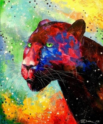 Картина «Пантера»