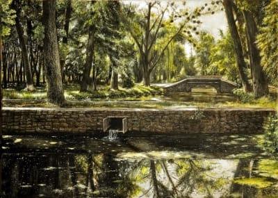 Картина «Парк в Браилове»